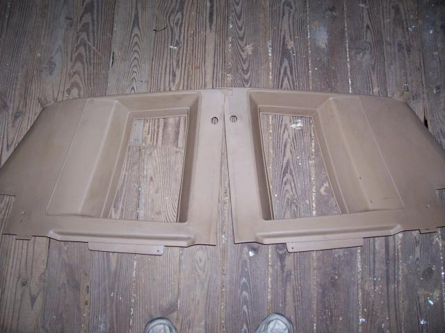 Upper Rear Panels